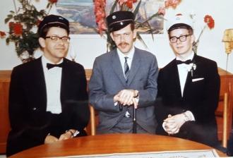 Bræðurnir í júní 1968