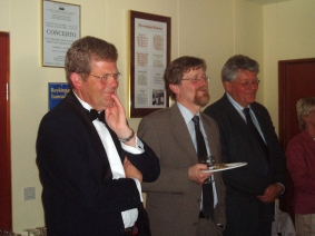 Bræðurnir í afmæli Sigmundar í júlí 2005